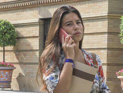 Cayetana Rivera Martinez de Irujo en Sevilla en junio de 2018.