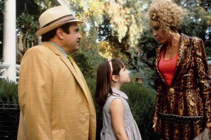 Ejemplo de padres que tienen mucho que mejorar, los de la película 'Matilda'.