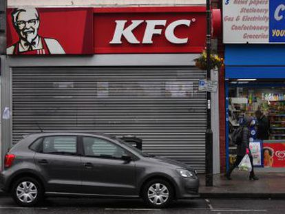 La empresa estadounidense de comida rápida ha sufrido un problema de distribución por parte de la compañía alemana DHL