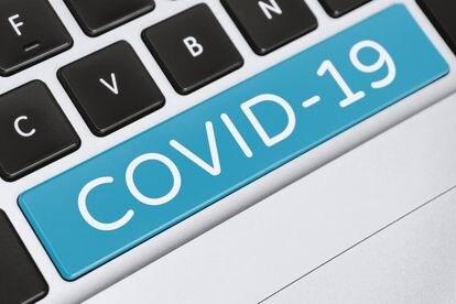 Covid-19 en un ordenador