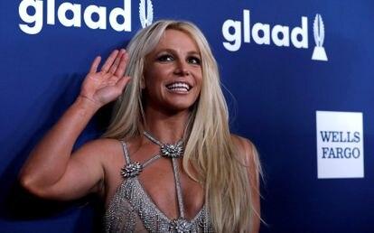 Britney Spears, en una gala en Los Ángeles (California, EE UU) en abril de 2018.