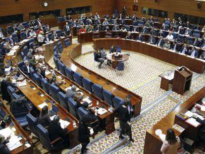 La Asamblea regional, en diciembre del año pasado.
