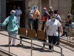 Servicio de urgencias en un centro de atención primaria de Lleida, este lunes.