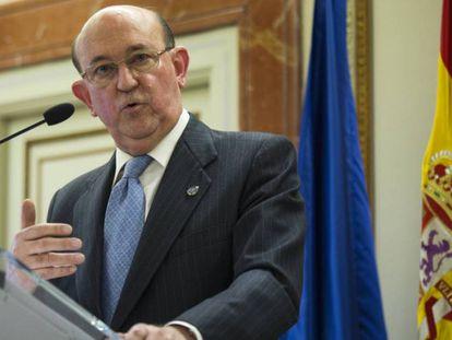 El magistrado del Constitucional Andrés Ollero, en una foto de archivo.