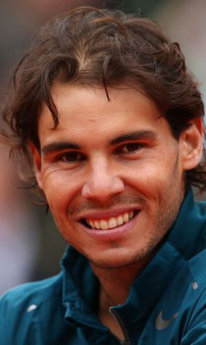 Nadal, tras ganar su octavo título en París.