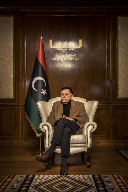 Fayez Al Sarraj, presidente del Gobierno de Acuerdo Nacional de Libia.