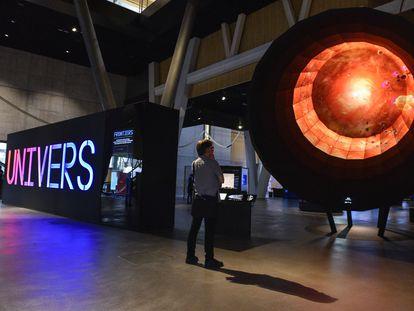Nueva presentación de la exposición permanente de CosmoCaixa en 2019.