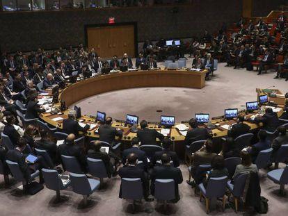 Reunión del Consejo de Seguridad de las Naciones Unidas sobre Siria