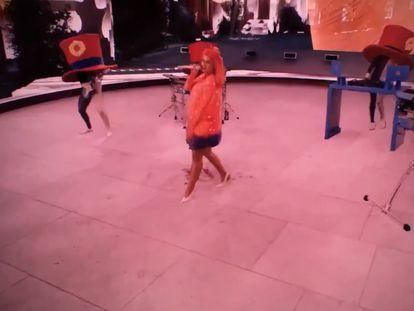 Imagen del concierto virtual que dio Katy Perry en Tomorrowland.