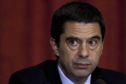 El ministro de finanzas de Portugal, Vitorr Gaspar. EFE/Archivo