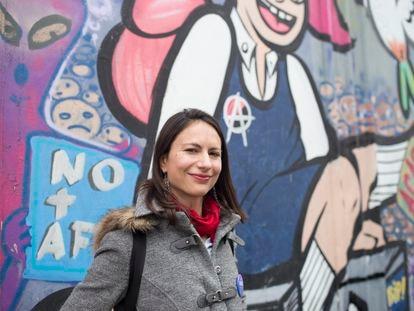 Irací Hassler, la alcaldesa electa de la comuna de Santiago de Chile.