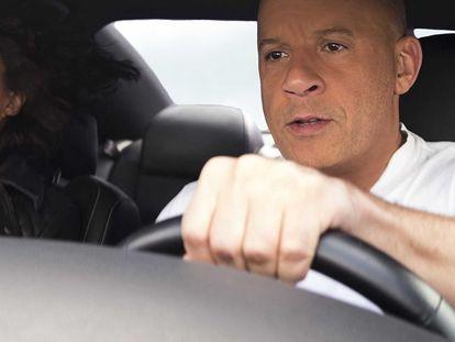 Michelle Rodriguez y Vin Diesel, en 'Fast & Furious 9'.