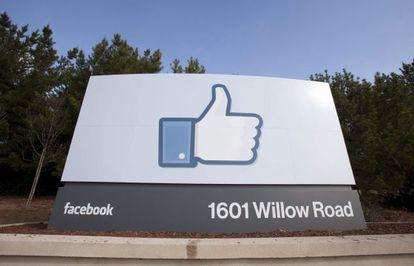 Sede corporativa de Facebook en Menlo Park, California
