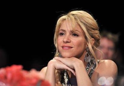 Shakira, en una entrega de premios en Las Vegas, en noviembre de 2011.
