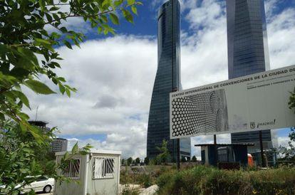 'Agujero' de las Cuatro Torres que ha sido comprado por Villar Mir.