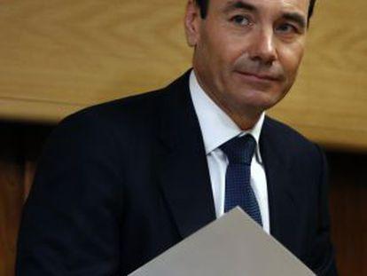 El líder regional del PSOE, Tomás Gómez.