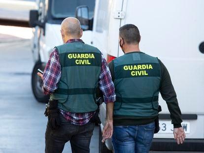 La Guardia Civil de la Comandancia de Pontevedra investiga el tiroteo en Vilanova.