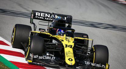 Fernando Alonso marca el mejor tiempo en la jornada de test en Abu Dabi