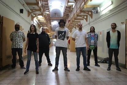 Los integrantes de Califato ¾, en la cárcel Modelo de Barcelona, en septiembre de 2020.