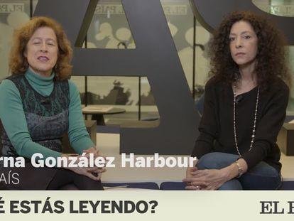 Leila Guerriero en el programa ¿Qué estás leyendo? en la redacción de EL PAÍS.