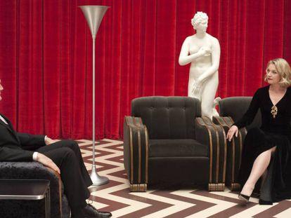 Un repaso a la carrera televisiva del actor, mientras cuenta detalles sobre su reunión con David Lynch
