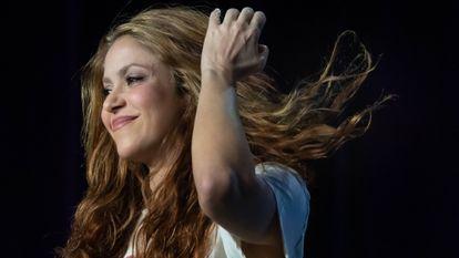 La cantante Shakira, en Miami, el pasado enero.