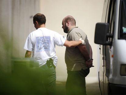 El etarra Asier Eceiza, cuando fue detenido en Francia en 2008.
