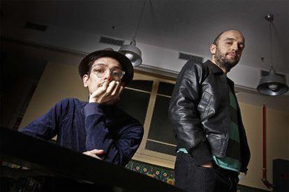 Genís Segarra y Manolo Martínez, componentes del dúo Astrud.