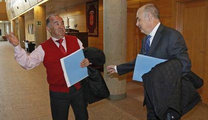 Corujo, exsubdirector general de ICM (izquierda) y Martínez Nicolás, consejero delegado.