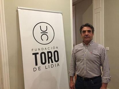 Victorino Martín, presidente de la Fundación Toro de Lidia.