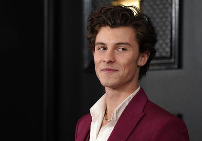 El cantante Shawn Mendes, en los premios Grammy el pasado enero.