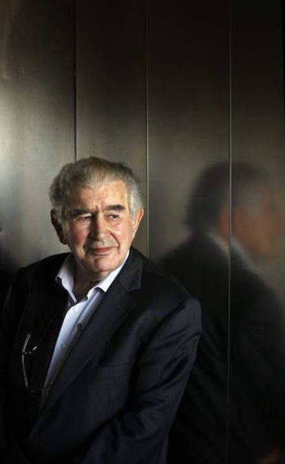 Antonio Gamoneda posa en 2012.