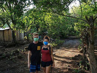 Thomas y Ana (nombres ficticios) llevan desde principios de marzo en Nicaragua.