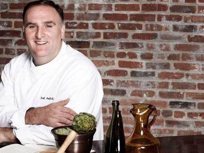 El chef español José Andrés, que acaba de entrar, por segunda vez, en la lista TIME de las 100 personas más influyentes.