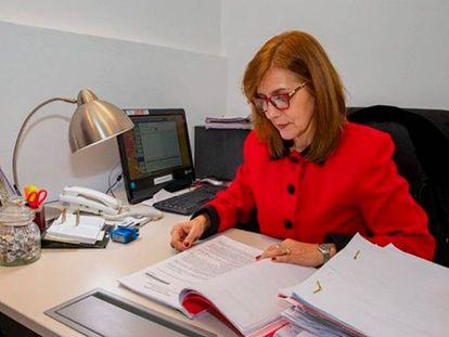La juez de familia Mariana Rey Galindo.