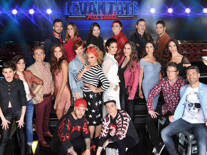 Los VIP dan el cante en 'Levántate'