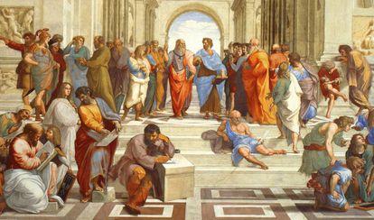 'La escuela de Atenas', 1509-1511. Raphael Sanzio