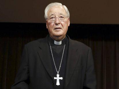 El obispo de Alcalá de Henares, Juan Antonio Reig Pla, en octubre de 2014.