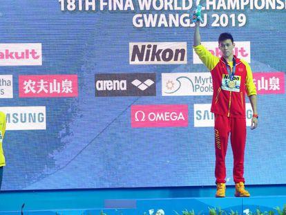 Mack Horton, medalla de plata, se niega a subirse al podio con Sun Yang.