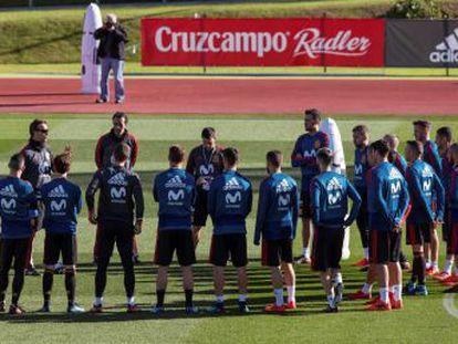 Luis Alberto, el mediapunta de la Lazio, se une a la selección después de siete meses de progresión deportiva y ejercicios mentales con el psicólogo que asiste a Julen Lopetegui