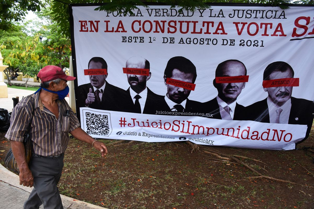 Consulta popular contra expresidentes: Juicio al pasado en México: qué se  decide el domingo y para qué | EL PAÍS México
