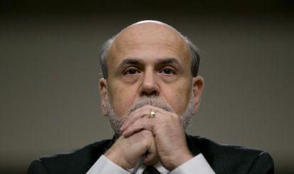 Ben Bernanke, presidente de la Reserva Federal de EE UU