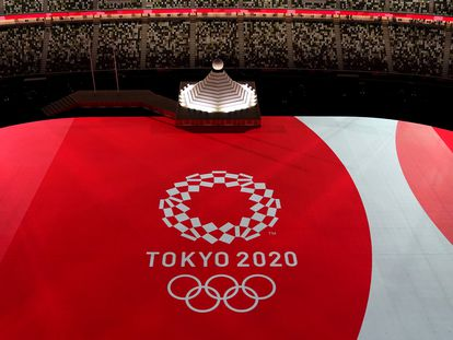 Ceremonia de inauguración del los Juegos Olímpico de Tokio 2020.