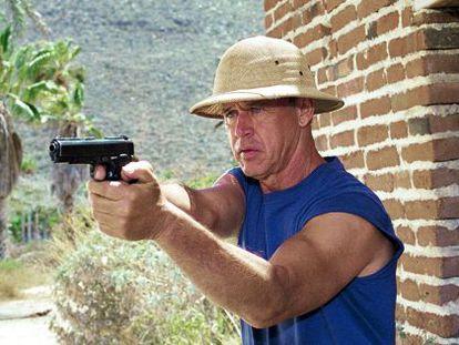 El actor Geoffrey Lewis.