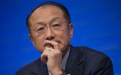 Jim Yong Kim, presidente del Banco Mundial.
