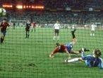 El gol de Maceda a Alemania en la Eurocopa del 84.