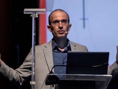 El escritor israelí Yuval Noah Harari en una imagen de archivo.