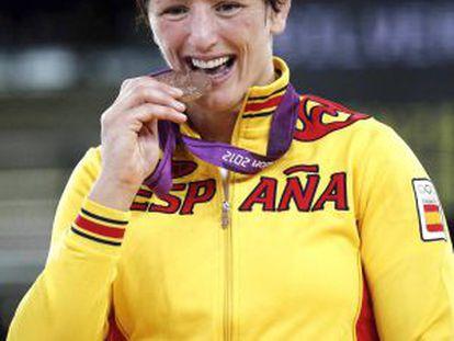 Maider Unda muerde la medalla de bronce