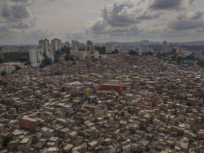 La favela de Paraisópolis, en São Paulo (Brasil).