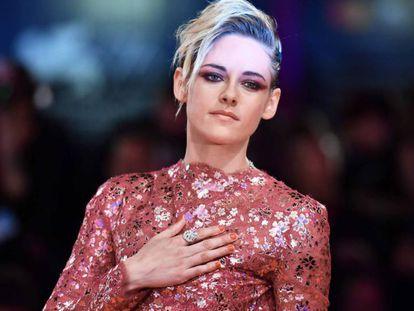 La actriz Kristen Stewart, en el Festival de Cine de Venecia, el pasado viernes.